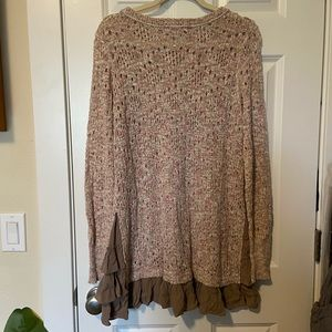 Knox Rose Sweaters - Knox rose mauve pink sweater size L NWOT